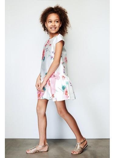 Lia Lea Lia Lea Kız Çocuk Şakayık Elbise 19SSLL01632 Renkli